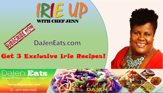 Subscribe to Irie Up! Newsletter