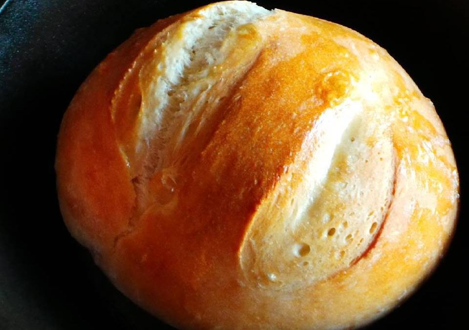 Jenn's No-Fuss Jamaican Hard Dough Bread