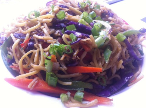 Jenn's Flaming-Ginger Lo Mein Recipe
