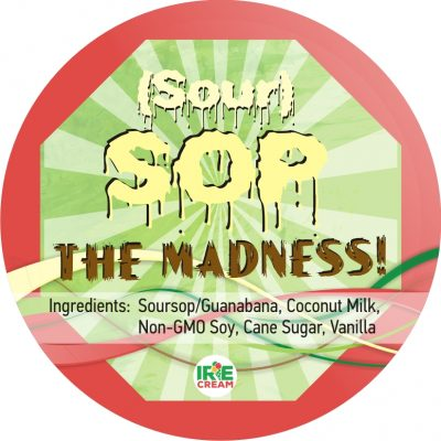 Smooth, creamy fruit-forward Soursop/Guanabana Irie Cream base with pleasant floral hints.