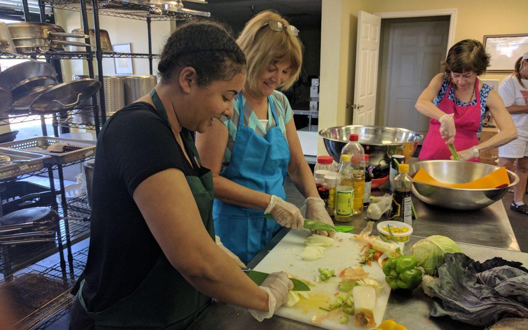 Wok-Fired Lo Mein Cooking Class Recap